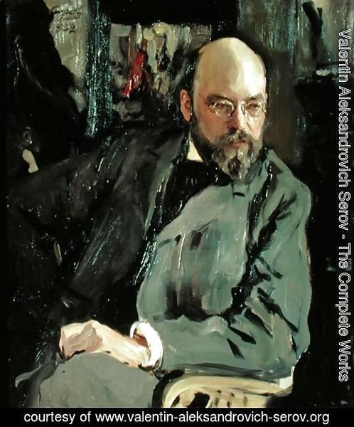 Portrait of Ilya Ostrouhov (1858-1929), 1902