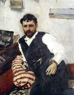 Portrait of Konstantin Korovin (1861-1939), 1891