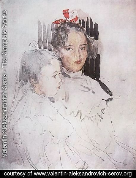 Valentin Aleksandrovich Serov - The Botkin Children