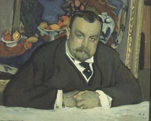 Portrait of I. Morosov, 1910