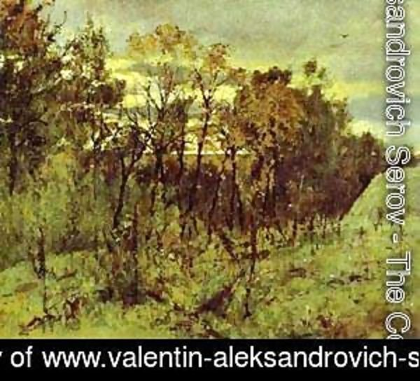 Autumn Evening Domotcanovo 1886