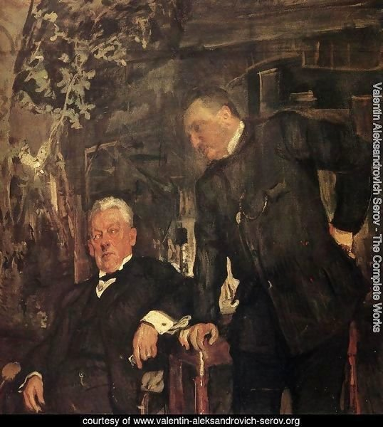 Portrait Of Alexander Lensky And Alexander Yuzhin 1908