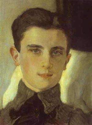Portrait Of Count Felix Sumarokov Elstone Later Prince Yusupov Detail 2 1903