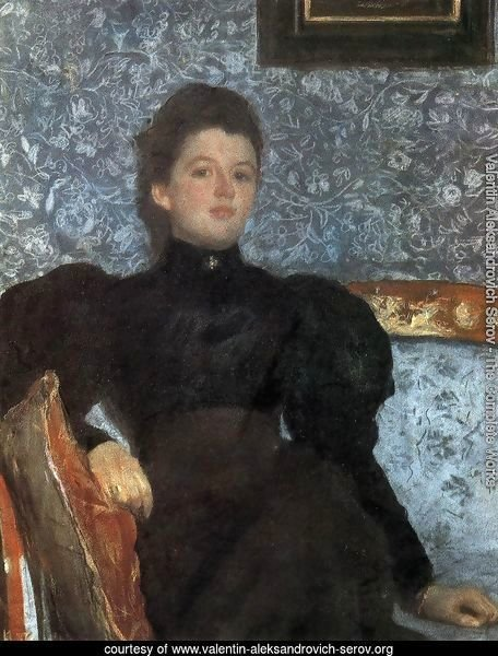 Portrait Of Countess Varvara Musina Pushkina 1895