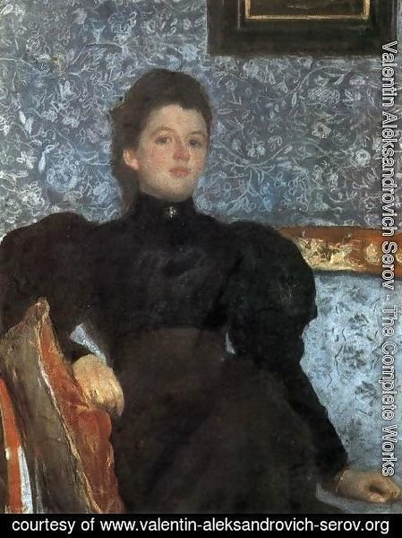 Valentin Aleksandrovich Serov - Portrait Of Countess Varvara Musina Pushkina 1895