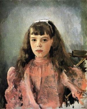 Portrait Of Grand Duchess Olga Alexandrovna Study 1893