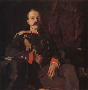 Valentin Aleksandrovich Serov - Portrait Of Grand Duke Georgy Mikhailovich 1901