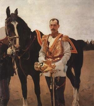 Portrait Of Grand Duke Pavel Alexandrovich 1897