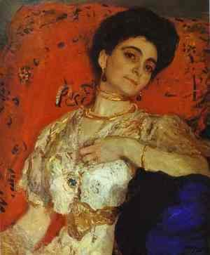 Portrait Of Maria Akimova 1908