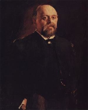 Portrait Of Savva Mamontov 1887