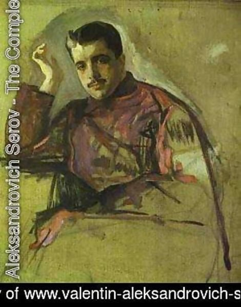 Portrait Of Sergei (Serge) Diaghilev 1904