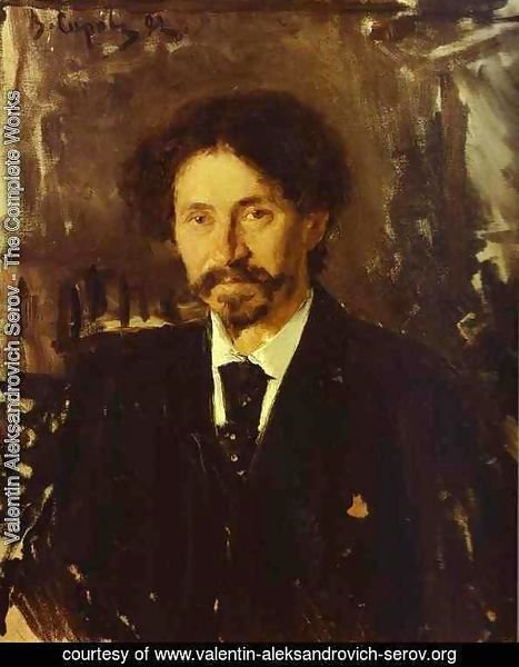 Portrait Of The Artist Ilya Repin 1892