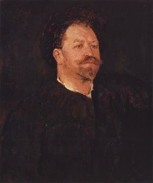 Portrait Of The Italian Singer Francesco Tamagno 1891