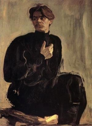 Portrait Of The Writer Maxim Gorky 1905