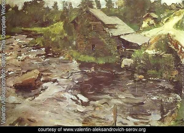 Watermill In Finland 1902