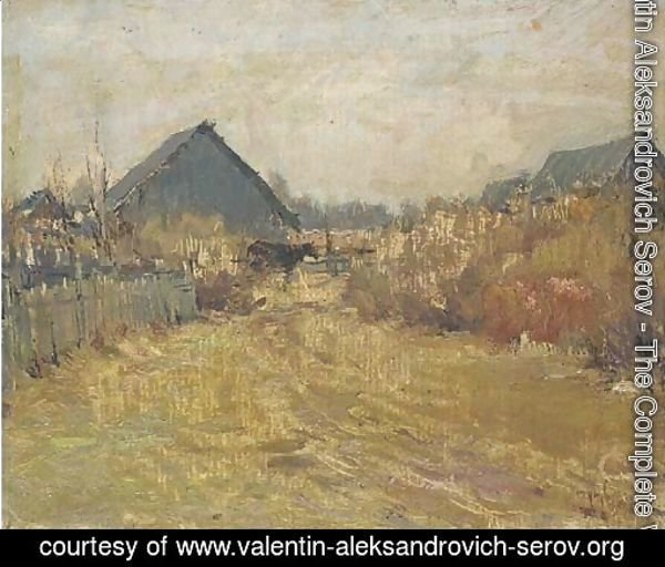 Study of a Russian farm