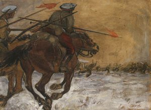 Valentin Aleksandrovich Serov - The Cavalry Charge
