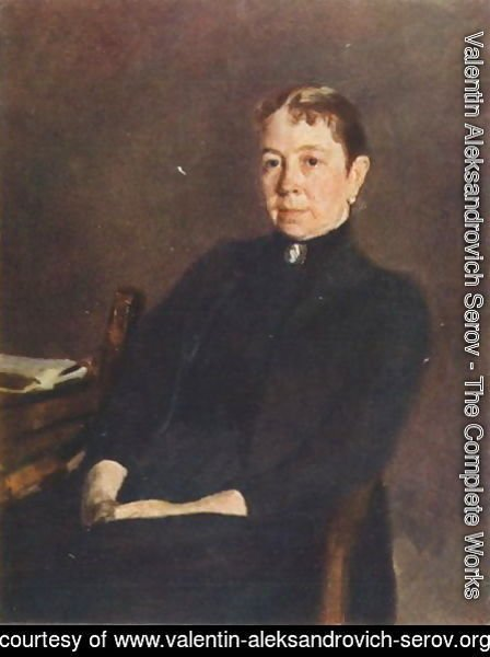 Portrait of P.D. Antipova