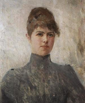 Portrait of actress M.Ya.Van-Zandt, in a marriage Cherinova