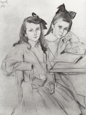 Girls N.A. Kasyanova and T. A. Kasyanova