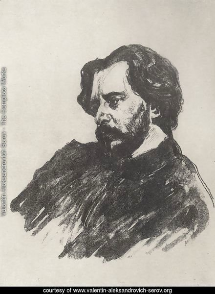 Portrait of L.N. Andreev 2