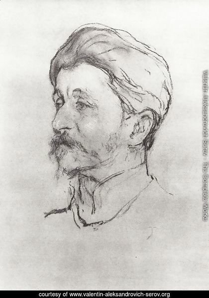 Portrait of the Artist M.A. Vrubel