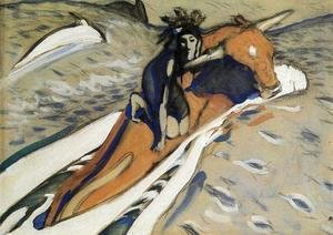 Valentin Aleksandrovich Serov - The Rape of Europa 3